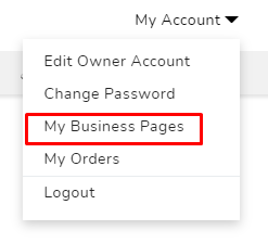 Edit your business pages in Saudi company directory